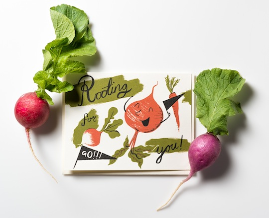 Rooting for You Card by Nicholas Frith NEW from Red Cap Cards