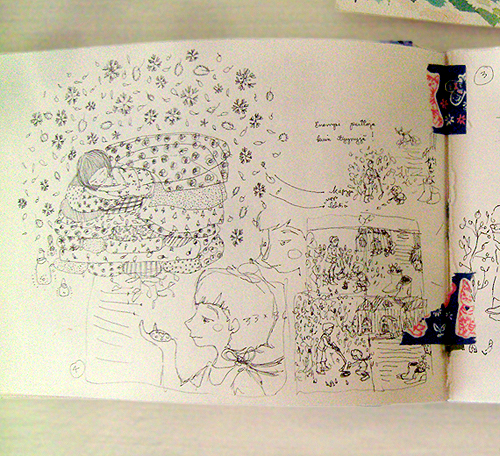 anna emilia drawings and sketchbook sneak peek on design*sponge