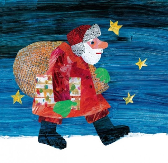 Favorite Holiday Children's Books List by @redcapcards Dream Snow by Eric Carle