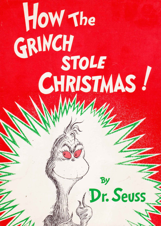 Favorite Holiday Children's Books List by @redcapcards How the Grinch Stole Christmas!