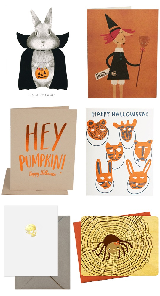 Favorite Halloween Cards roundup 2014 by @redcapards
