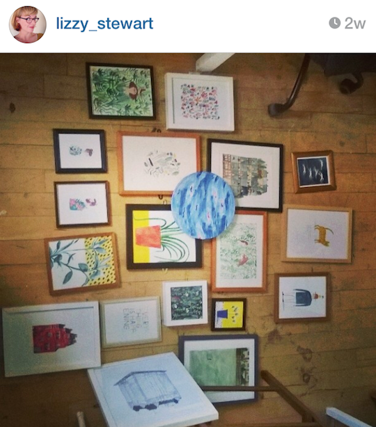 Red Cap Cards' artists on Instagram: Lizzy Stewart