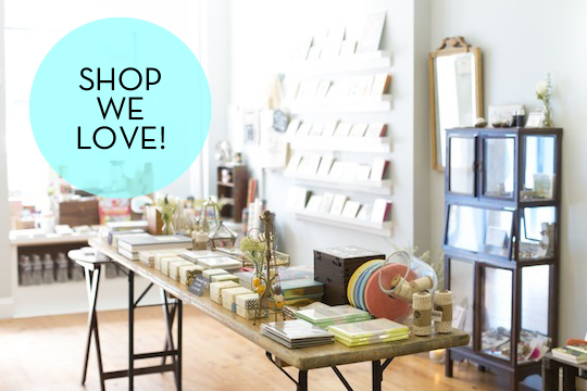 Shops We Love: Pink Olive by Red Cap Cards