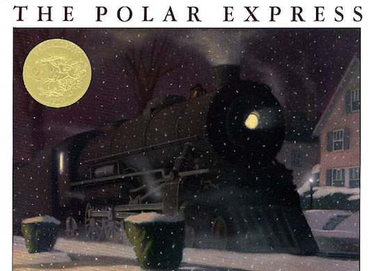 Favorite Holiday Children's Books List by @redcapcards The Polar Express