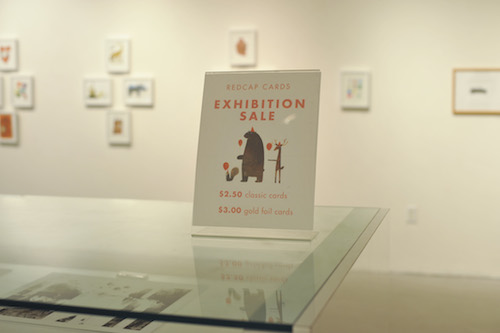Greetings and Salutations: An Exhibition in Collaboration with Red Cap Cards @redcapcards