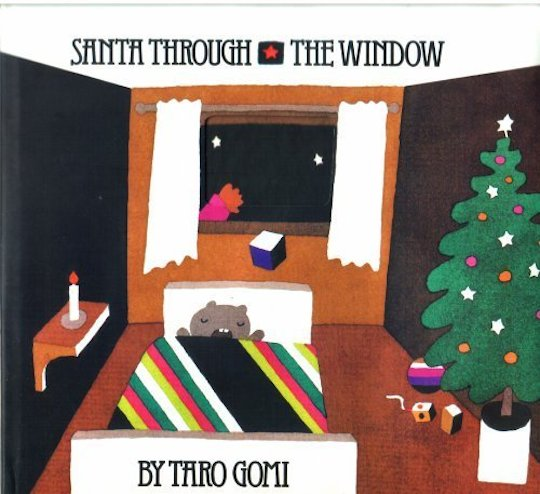 Favorite Holiday Children's Books List by @redcapcards Santa Through the Window