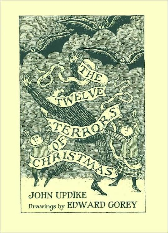 Favorite Holiday Children's Books List by @redcapcards The Twelve Terrors of Christmas