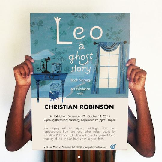 Christian Robinson Leo: A ghost Story Launch and Solo Exhibition at Gallery Nucleus