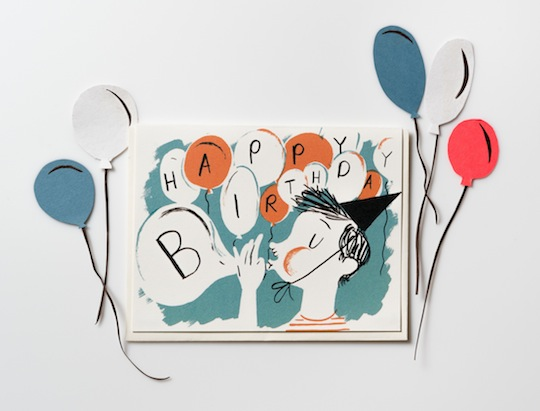 Happy Birthday card by Nicholas Frith NEW from Red Cap Cards