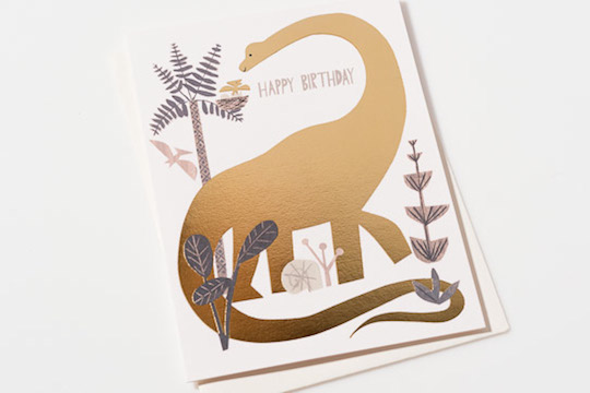 New Gold Foil Cards by Red Cap Cards @redcapcards