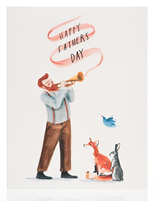 Life in Father's Day Trumpet blog post