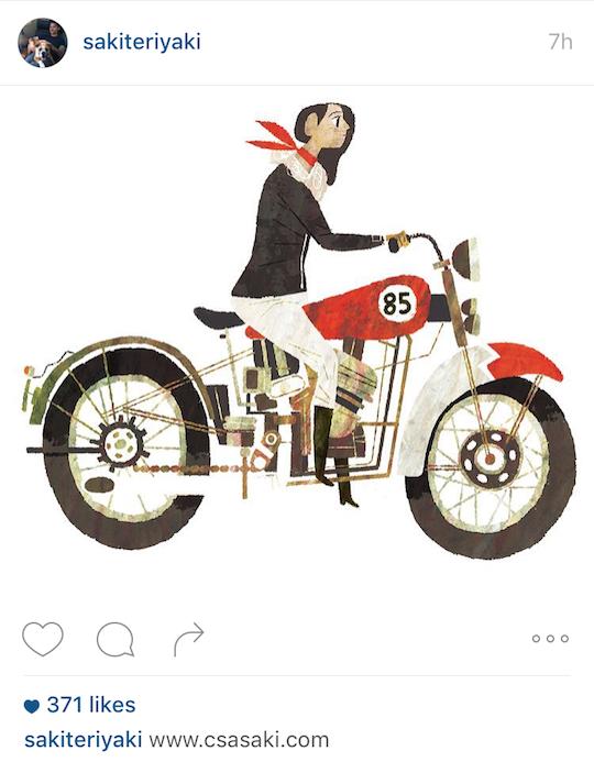 Red Cap Cards artists on Instagram! Chris Sasaki