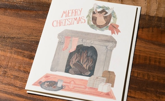 Holiday Cards from @redcapcards