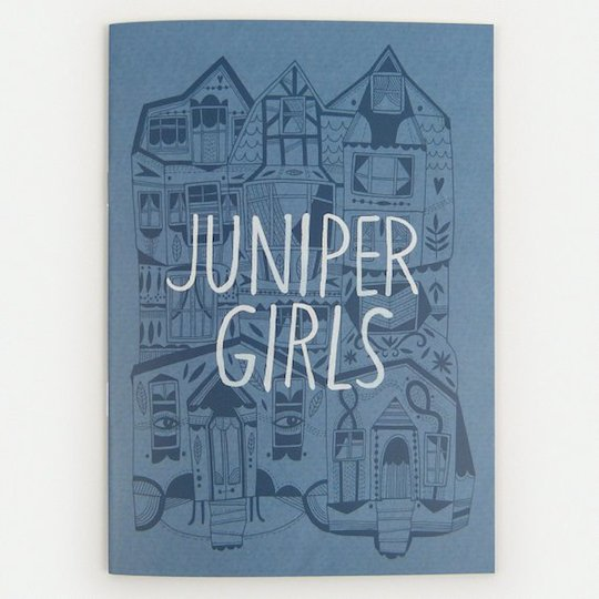 Red Cap Cards artist, Anke Weckmann's zine, Juniper Girls on sale with coupon code