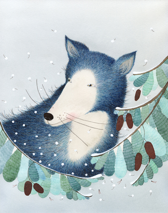 Artist Spotlight on Anna Emilia Laitinen by Red Cap Cards @redcapcards