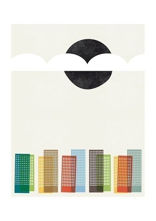 An Ode to the City by Red Cap Cards artists // Blanca Gomez