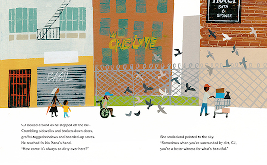 An Ode to the City by Red Cap Cards artists // Christian Robinson