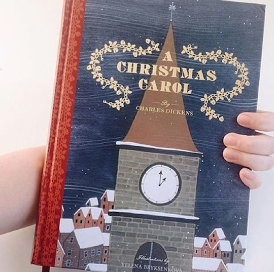 A Christmas Carol by Charles Dickens, illustrated by Red Cap Cards artist Yelena Bryksenkova