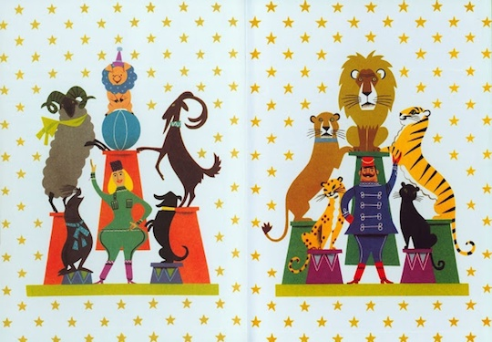 Children's Book End Paper Art Showcase by @redcapcards