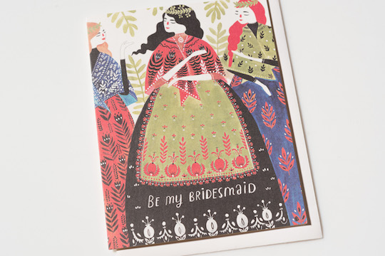 Brand new artist for Red Cap Cards: Dinara Mirtalipova @redcapcards