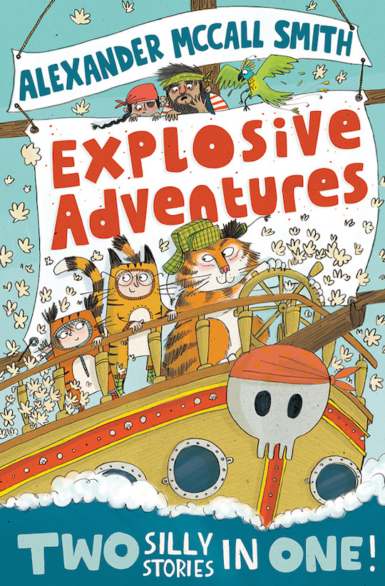 Explosive Adventures! illustrated by Red Cap artist, Kate Hindley