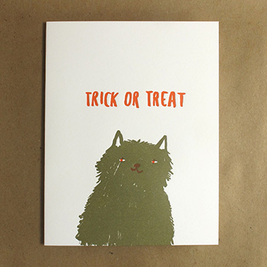 Egg Press Halloween card favorites from Red Cap Cards