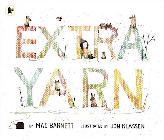 Red Cap Cards artist Jon Klassen's illustrations in Extra Yarn
