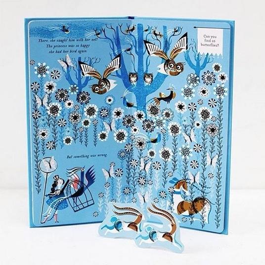Red Cap Cards artist, Lesley Barnes's second interactive children's book, Flyaway