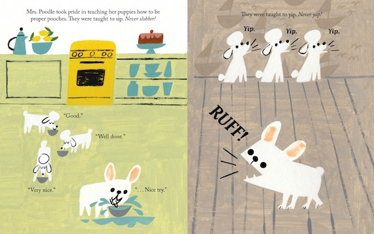 Gaston by Kelly DiPucchio, illustrations by Christian Robinson: Arlo's Book Club @redcapcards