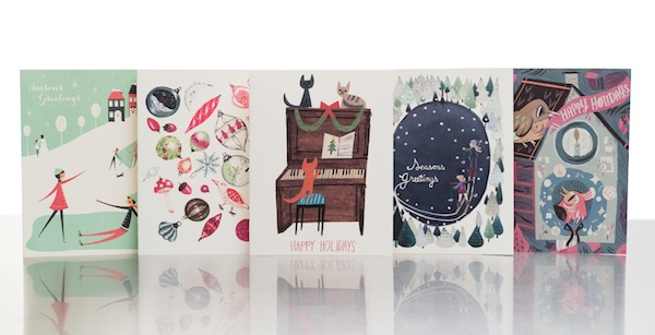 holiday designs for Red Cap Cards 2013