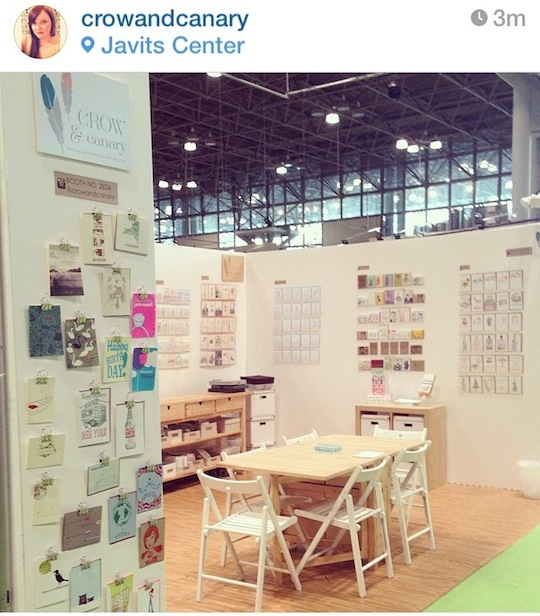 Red Cap Cards' Favorite Booths from NSS 2014