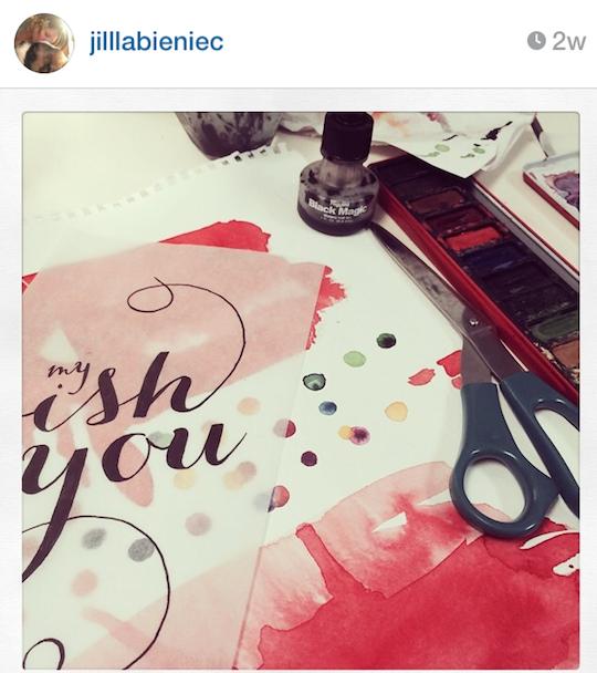Red Cap Cards' artists on Instagram: Jill Labieniec