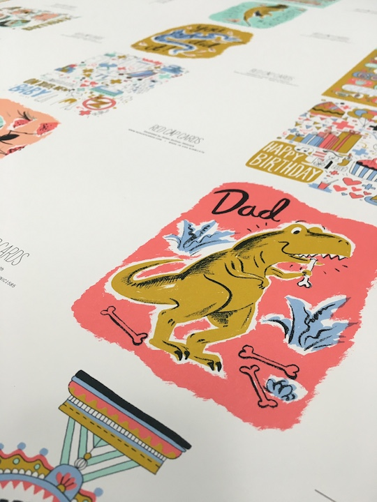 New Winter Sneak peek of our Press Check from Red Cap Cards