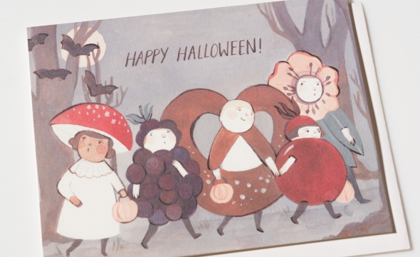 Halloween card favorites from Red Cap Cards