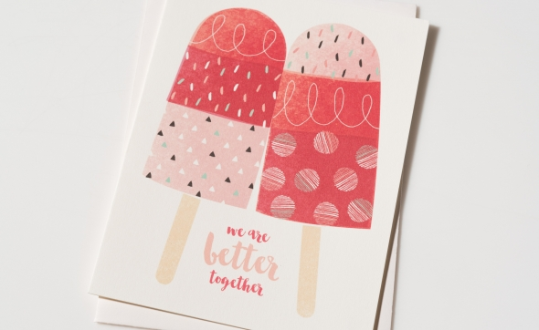 Indian Summer with Red Cap Cards
