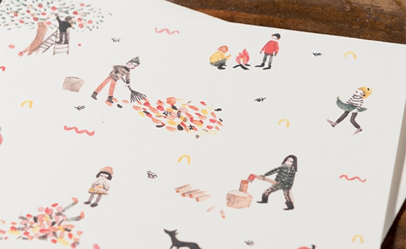 Fall by Sarah Burwash for Red Cap Cards @redcapcards