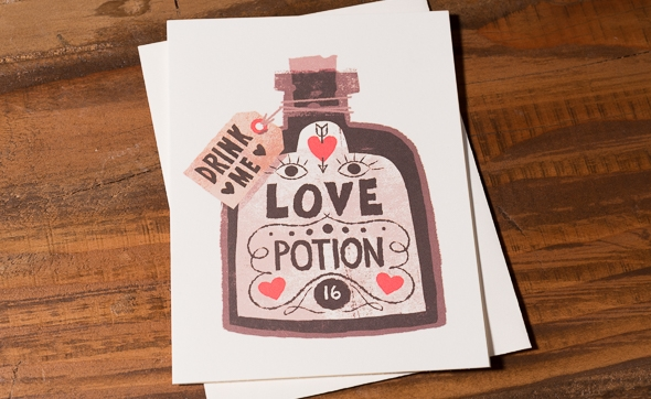 Love Potion by Chris Sasaki