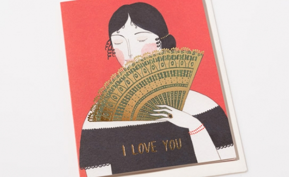 Red Cap Cards Valentines for the love in your life