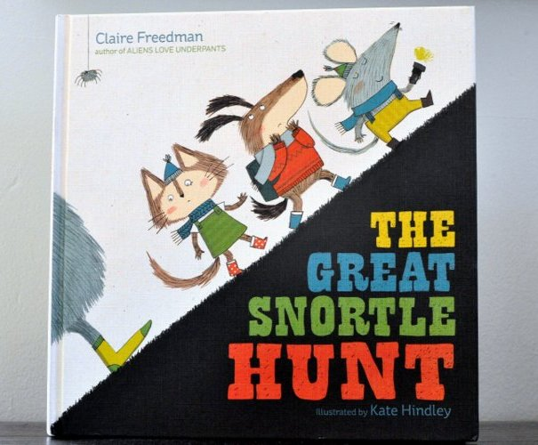 the great snortle hunt is here kate hindley