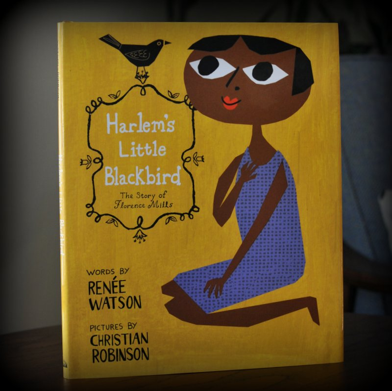 harlem's little blackbird illustration by christian robinson