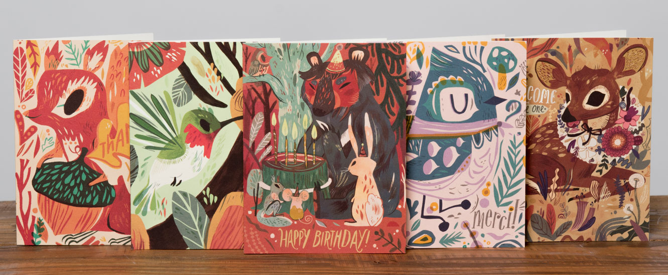 greeting cards by Meg Hunt