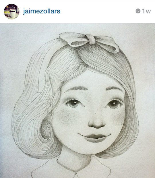 Red Cap Cards' artists on Instagram: Jaime Zollars