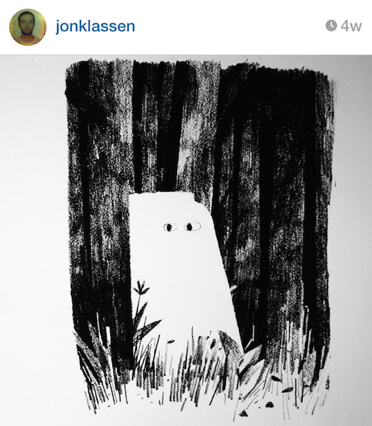 Red Cap Cards' artists on Instagram: Jon Klassen