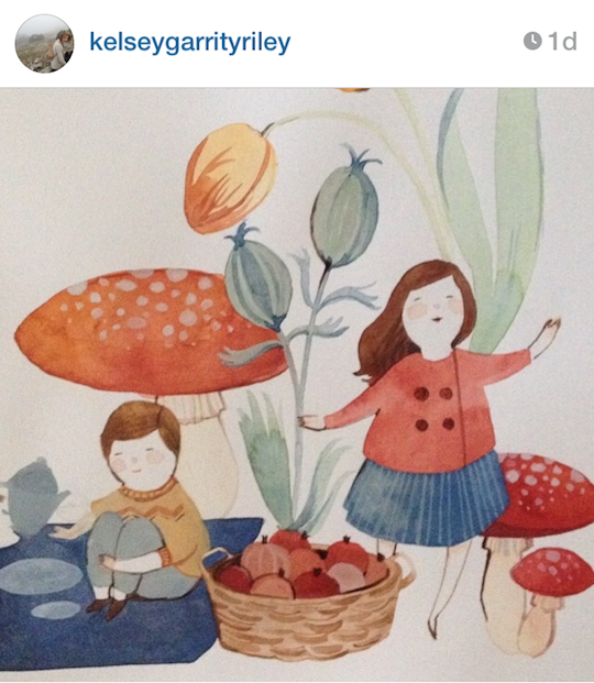 Red Cap Cards' artists on Instagram: Kelsey Garrity-Riley