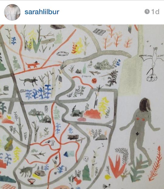 Red Cap Cards' artists on Instagram: Sarah Burwash