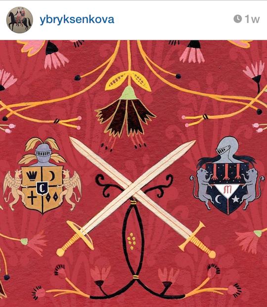 Red Cap Cards' artists on Instagram: Yelena Bryksenkova