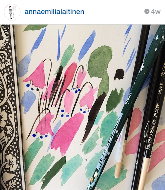 Red Cap Cards' artists on Instagram: Anna Emilia Laitinen