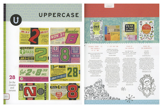 Jaime Zollars's IlLISTration in Uppercase Magazine