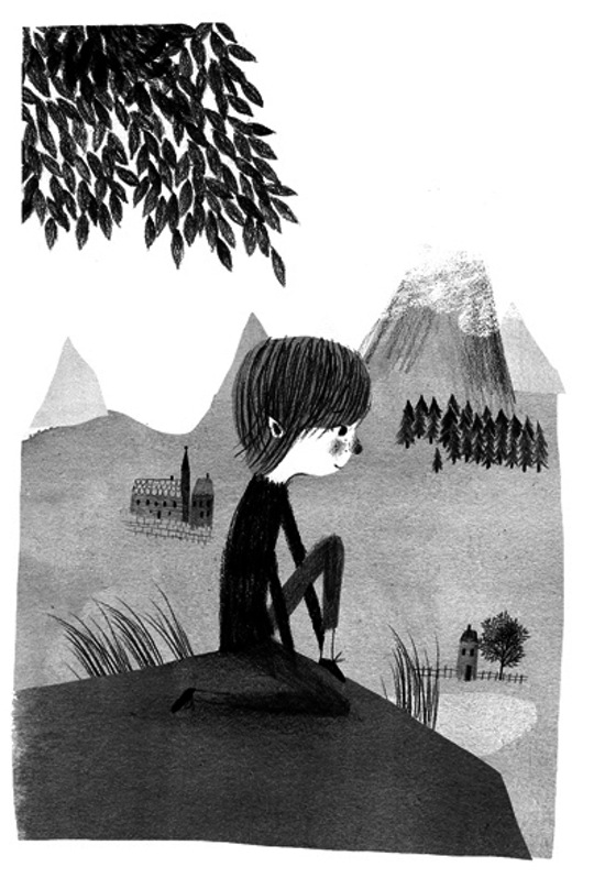 A Collection of Our Favorite Black and White Illustrations - Marika Maijala
