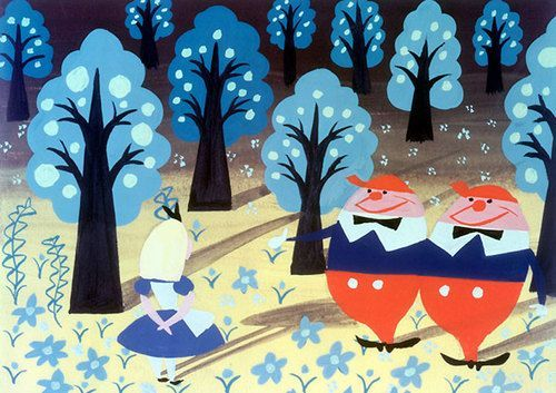 Masters Showcase - Mary Blair by @redcapcards Red Cap Cards